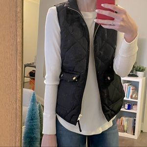 LIKE NEW! JCREW quilted vest!